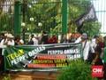 Pekik Khilafah dan Diktator Bergema di Aksi Perppu Ormas