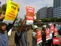 Massa Aksi Ajak Warga Tak Pilih Partai Pendukung Perppu Ormas