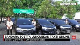 VIDEO: Bandara Soetta Legalkan Taksi Online