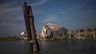 FOTO: Tangier Island dan 'Mitos' Pemanasan Global