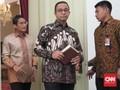 Manut Topik Obrolan Jokowi, Anies-Sandi Tak Bahas Reklamasi