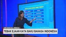 Tebak Ejaan Kata Baku Bahasa Indonesia