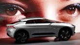 Mitsubishi e-Evolutionmerupakan mobil konsep berbahan listrik dan dominasi crossover serta kehadiran sistem kecerdasan buatan.(REUTERS/Kim Kyung-Hoon)