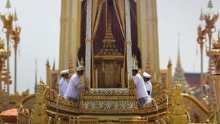 Upacara Kremasi Raja Thailand Digelar Tertutup