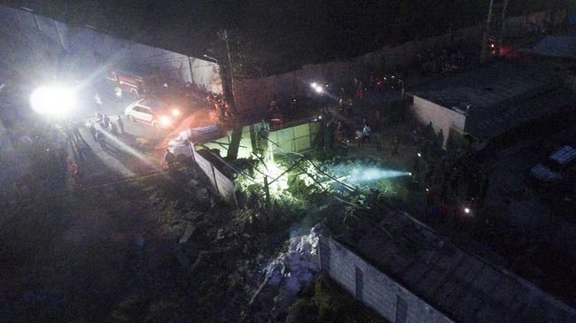 Rumah Produksi Petasan Meledak di Malang