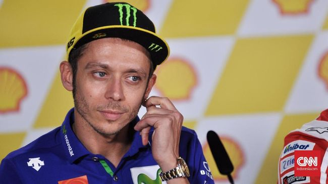 Rossi dan Marquez Temui Media Terpisah di MotoGP Amerika