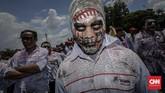 Awak mobil tangki Pertaminajuga meminta pemberlakuan 8 jam kerja dan upah lembur. (CNN Indonesia/Adhi Wicaksono).
