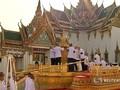 VIDEO: Prosesi Pemakaman Raja Thailand