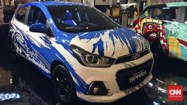 Chevrolet Spark Jadi Medium Kreatif Bertema Khas Indonesia