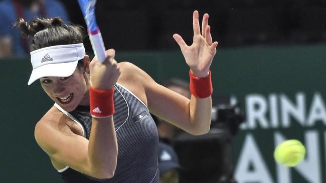 FOTO: Garbine Muguruza Gagal Rebut Gelar 'Ratu Tenis'