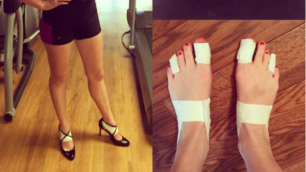 Nekat! Wanita Ini Ikut Full Marathon dengan Sepatu Hak Tinggi