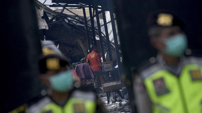 SPDP Kasus Pabrik Kembang Api Dikirim ke Kejari Tangerang