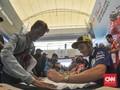 Para Fan Histeris Jumpa Valentino Rossi di MotoGP Malaysia