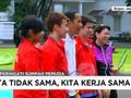 VIDEO: Aksi Jokowi Main Bulutangkis di Hari Sumpah Pemuda