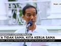 VIDEO: Saat Jokowi Membaca Puisi Karya Dewi Lestari