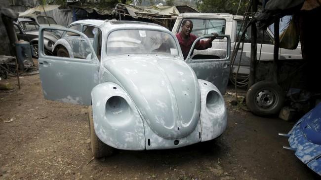 Bettle pertama kali diproduksi di era kepemimpinan Adolf Hitler pada tahun 1930-an.(REUTERS/Tiksa Negeri)
