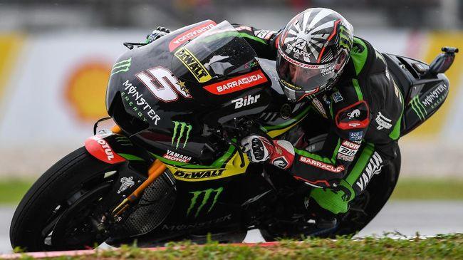 Zarco Tercepat, Rossi Jatuh di FP3 MotoGP Qatar