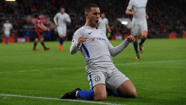 Hazard Kesal Dibilang Ingin ke Real Madrid