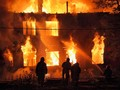 Gedung Dana Pensiun Malaysia Terbakar