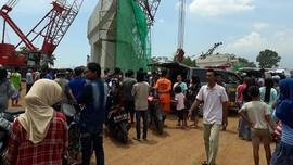 Seorang Pekerja Tol Pasuruan Tewas Tertimpa Penyangga Flyover