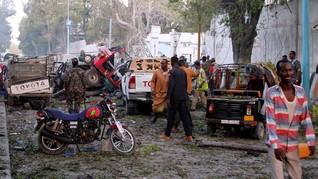 Rangkaian Ledakan di Somalia Tewaskan 20 Orang
