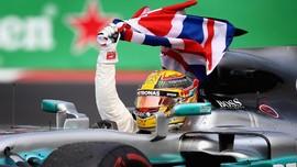 Lewis Hamilton Resmi Juara Dunia F1 2017