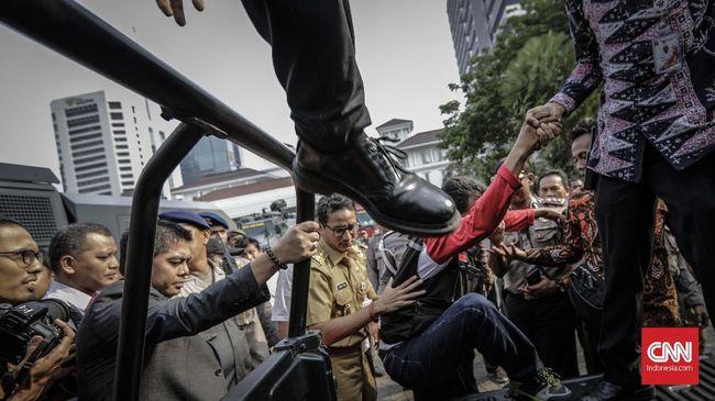 Sandiaga Siap Buka Komunikasi dengan Buruh soal UMP DKI 2018