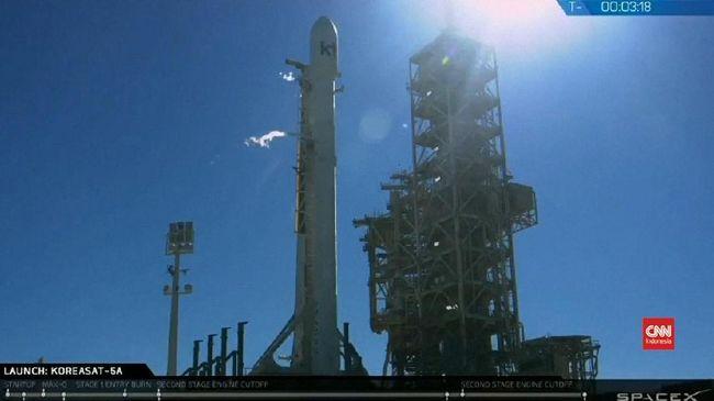 Roket SpaceX Seukuran Monas Siap Jajal Mars