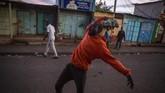 Odinga menyebut pemilu ulang yang digelar pada 26 Agustus itu sebagai lelucon. Sejumlah kelompok masyarakat sipil juga mengatakan pemungutan suara tersebut bermasalah. (AFP Photo/Patrick Meinhardt)