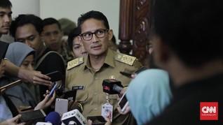 Sandiaga: Air Mancur Rp620 Juta untuk Menambah Kesejukan DPRD