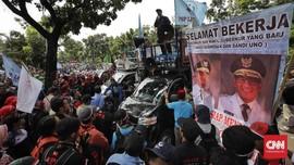 Serikat Buruh Akan Gugat UMP DKI Jakarta ke PTUN