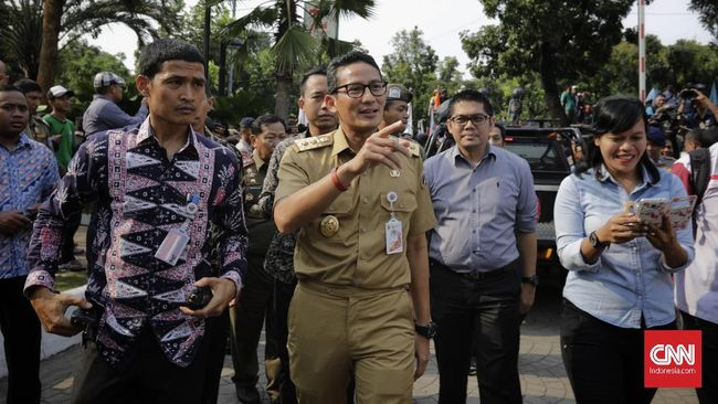 Sandiaga: Uji Coba OK Otrip Paling Lambat Awal 2018