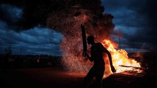 FOTO: Saat Demokrasi Berujung Friksi di Kenya