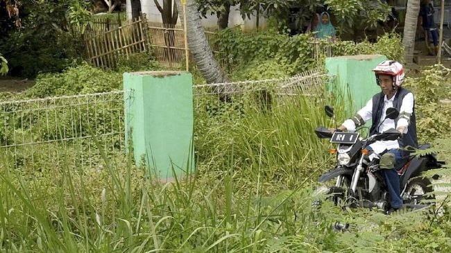 Melihat 'Tunggangan' Trail Jokowi dari Papua Hingga Bekasi