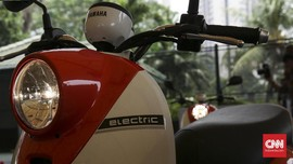 FOTO: Lebih Dekat dengan Skuter Listrik Yamaha E-Vino