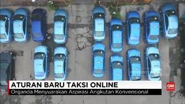 VIDEO: Penerapan Aturan Baru Taksi Online