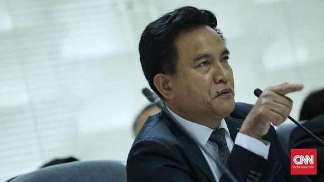 Yusril Sarankan Jokowi Tak Ikut Polisikan Habib Smith