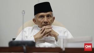Amien Rais Minta Pemerintah Tidak Sahkan Hasil Kongres V PAN