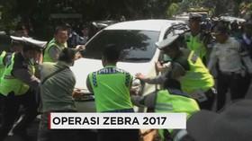 Polisi Gelar Operasi Zebra, Pengendara Nekat Kabur