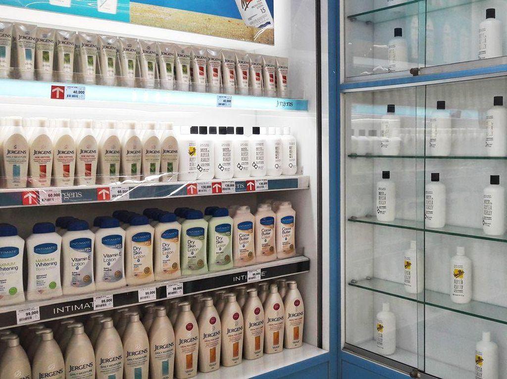 Diskon hingga 50% Body Lotion di Transmart Carrefour