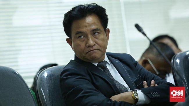 Cerita Yusril Dipanggil Jokowi Bahas Kasus Rizieq Shihab