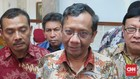 Mahfud Sebut Ma'ruf Amin Suruh NU Ancam Jokowi