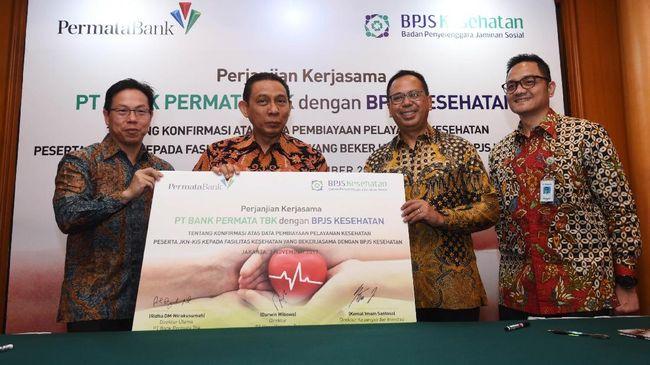 Jaga Likuiditas Faskes, BPJS Kesehatan Gandeng Bank Permata