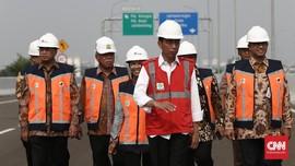 Suara Protes Pembebasan Lahan saat Jokowi Tinjau Tol Becakayu