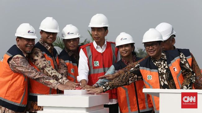 Jokowi Resmikan Tol Becakayu, Proyek Mangkrak Dua Dekade