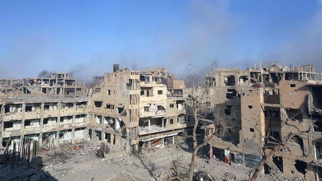 Rusia Tuding AS Gunakan Bom Fosfor di Suriah