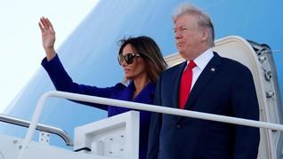 Trump Sebut Melania Mengenal Kim Jong-un Walau Belum Bertemu