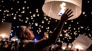 Nusa Dua Gelar Festival Lampion 'Cahaya Bawah Laut'