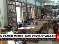 Warga Jepara Ubah Ruang Pamer Mebel Jadi Perpustakaan