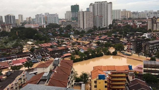 Banjir dan Badai di Penang Tewaskan 5 Orang